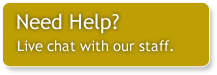 Need help? - Live chat with our staff.