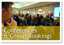 Conferences & Group Bookings